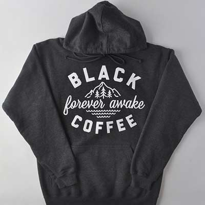 forever awake black coffee apparel