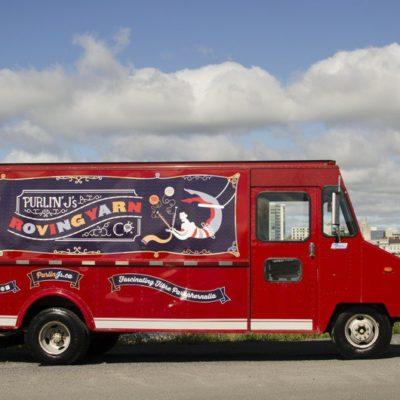 mobile yarn truck