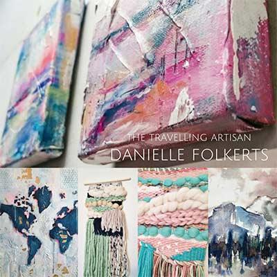 art exposition on wall