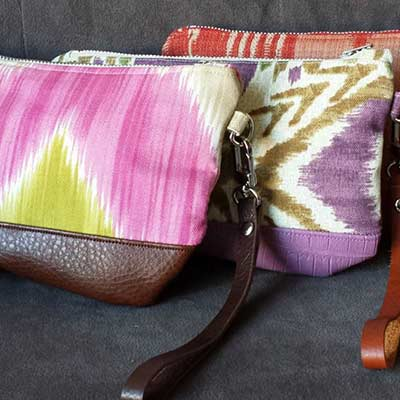 colourful purses