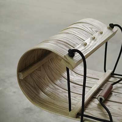 handmade slow sled