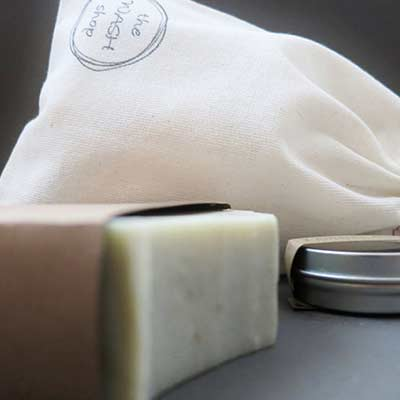 soap and bath set