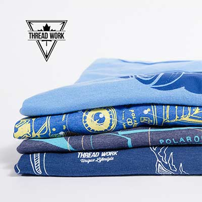 t-shirt blue collection